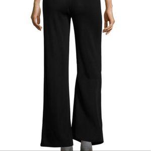 Misook black wide leg work pants